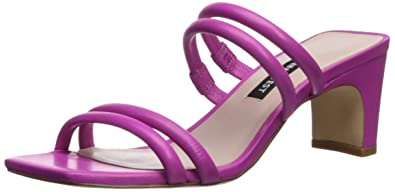 3e60edf910a Nine West Women s NAKATO Leather Heeled Sandal