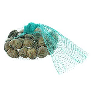 """Royal Teal Plastic Mesh Produce and Seafood, 24"""", Package of 1000"""
