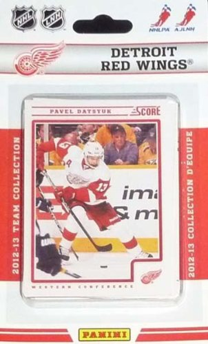 Upper Deck Detroit Red Wings - Detroit Red Wings 2012/2013 Score Hockey Brand New Factory Sealed 12 Card Team Set Made By Panini