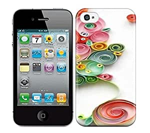 Best Power(Tm) HD Colorful Painted Watercolor Quilling Hard Phone Case For Iphone 4/4S wangjiang maoyi by lolosakes