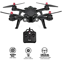 MJX Bugs 6 Racing Drone with High Speed Motor Brushless Two-way 2.4GHz 4 Chanel 6 Axis Gyro RC Quadcopter Drone (MJX Bug 6)