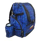 INNOVA HeroPack Backpack Disc Golf Bag (Blue Plaid)