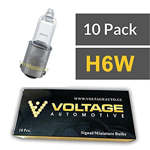 Сигнал поворота 10 Pack H6W 64132