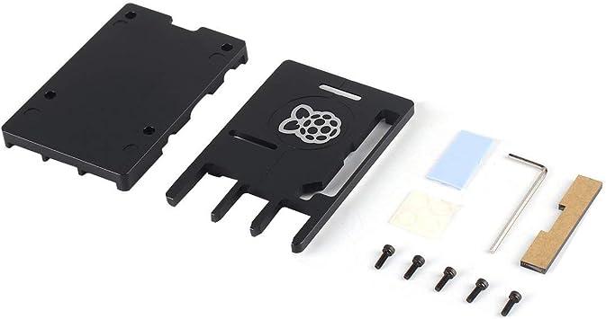 Caja CNC de aleación de Aluminio Ultrafina 3B + para Raspberry Pi ...