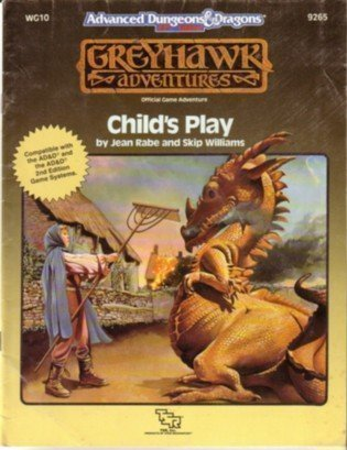 Child's Play (Advanced Dungeons & Dragons/Greyhawk Module WG10)