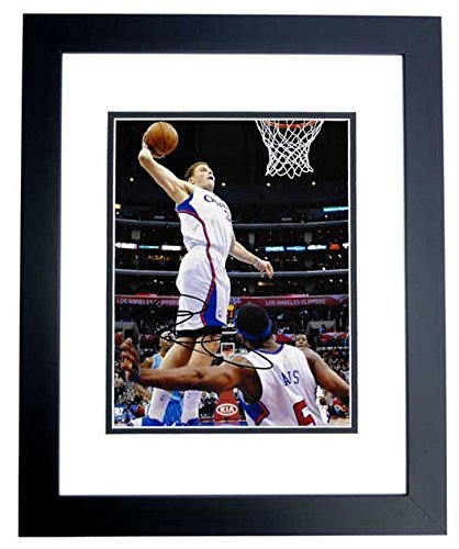 - Blake Griffin Signed - Autographed Los Angeles Clippers 8x10 inch Photo BLACK CUSTOM FRAME