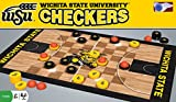 MasterPieces Collegiate Wichita State Checkers Game