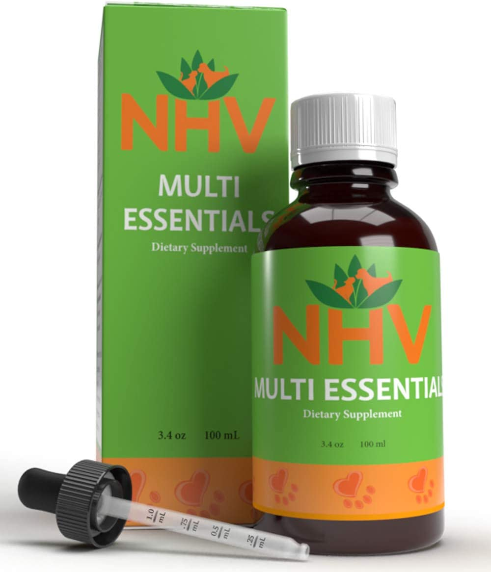 NHV Pet Multivitamin for Dogs Cats Natural Energy Booster Multivitamin Multi Essentials