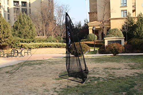 Galileo Golf Swing Net Training Hitting Practice Nets for Backyard Driving Indoor Use with Target&Carry Bag 8'x8'x4' by Galileo Thought (Image #4)