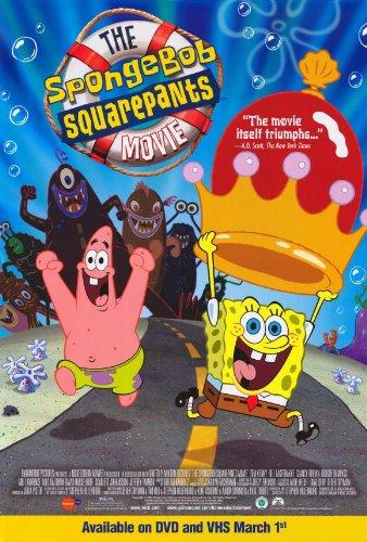 SpongeBob SquarePants Movie Poster Movie D 11x17