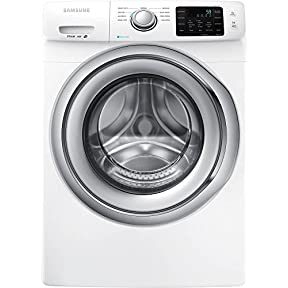 Samsung WF42H5200AW Energy Star 4.2 Cu. Ft. Front-Load Steam Washer with SelfClean, White
