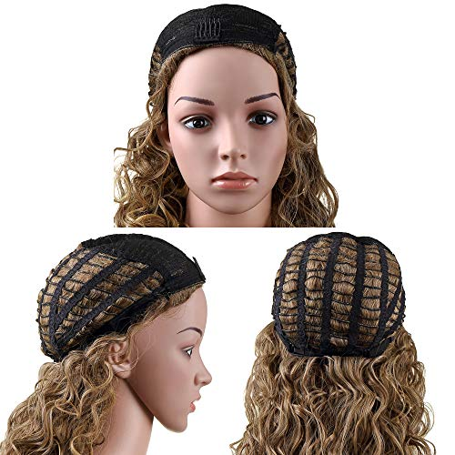 OneDor Long Hair Curly Wavy Full Head Halloween Wigs Cosplay Costume Party Hairpiece (613#-Pale Blon - http://coolthings.us
