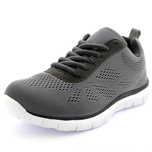 Go Correrening Atletico Get Sport Fit Scarpe Donna Grigio Correr Palestra Mesh qIFwXR4qxt
