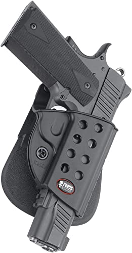 Fobus R1911 Evolution Holster for All 1911 style pistols with or without rail , Right Hand Paddle
