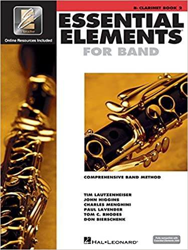 \\TXT\\ Essential Elements 2000: Comprehensive Band Method, Bb Clarinet Book 2. Centre Trabajo State social White