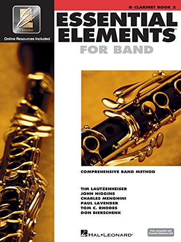 Essential Elements 2000: Comprehensive Band Method, Bb Clarinet Book 2