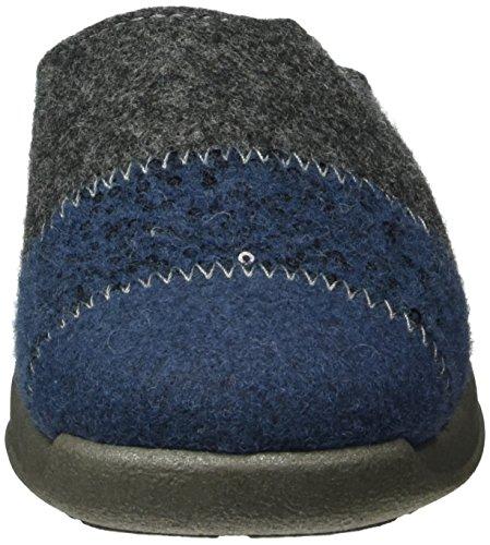 Rohde Damen Vaasa-d Pantoffeln Blau (Blau 50)