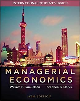 Book Managerial Economics by William F. Samuelson (2009-02-27)