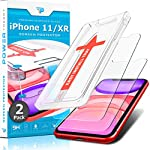 Power Theory Screen Protector for iPhone 11/iPhone XR Tempered Glass [2-Pack] with Easy Install Kit [Case Friendly][6.1…