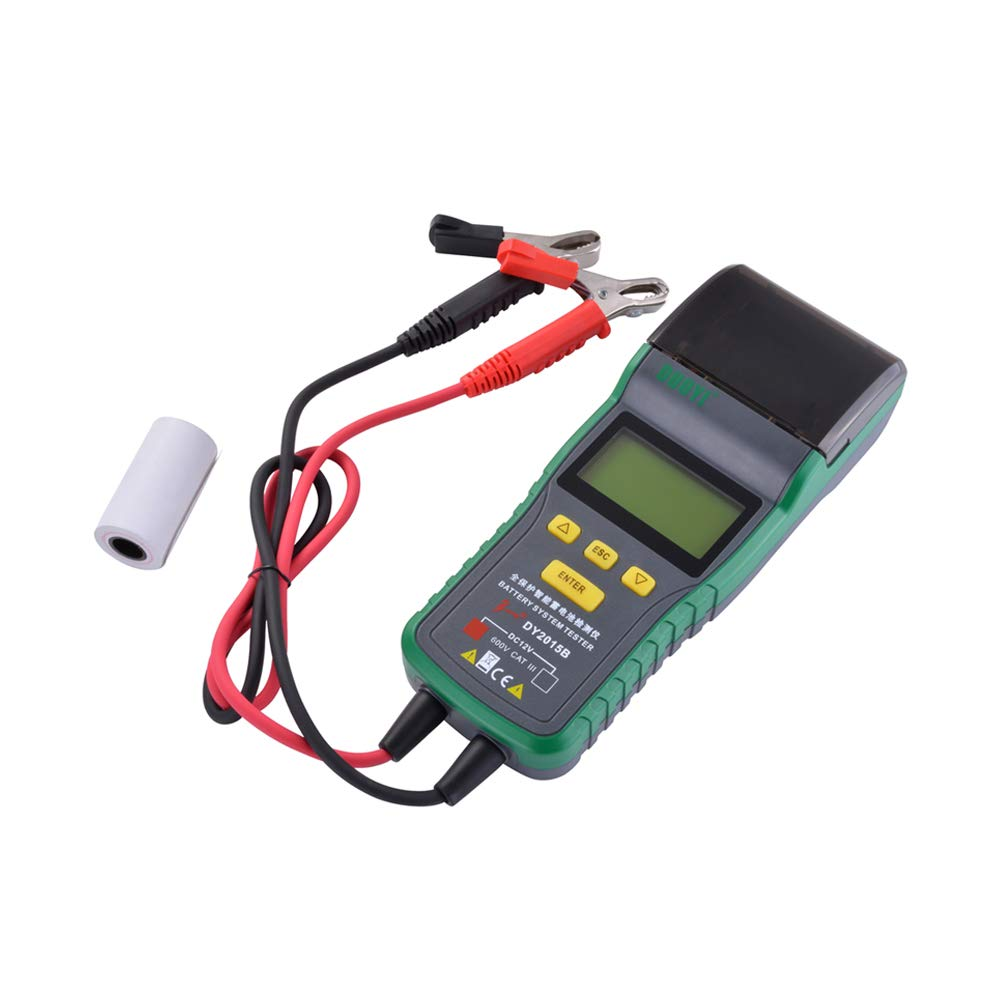 XCSOURCE DY2015B Automotive Battery Tester Battery Analyzer Tool Thermal Printer MA1904 by XCSOURCE (Image #2)