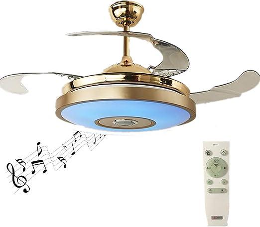 SHELLTB Ventiladores de Techo Modernos con luz Inteligente ...
