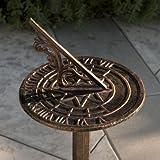 Best Selling Dia Sol Sun Dial, Antique Copper
