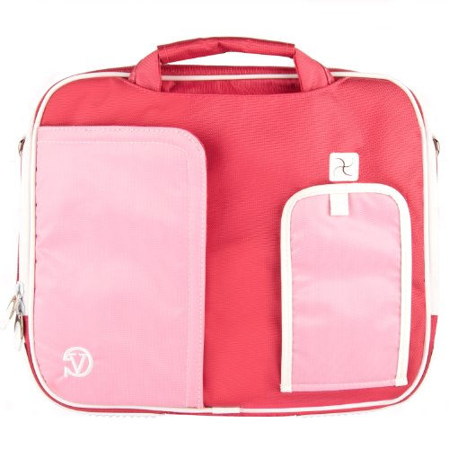 pindar-messenger-shoulder-carrying-bag-durable-case-pink-trim-for-the-philips-pd9016-9-inch-portable