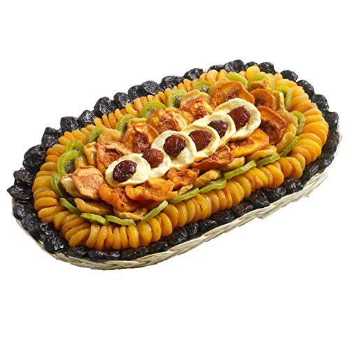 Broadway Basketeers Fathers Day Executive Collection Dried Fruit Gift Tray, 5 Pounds