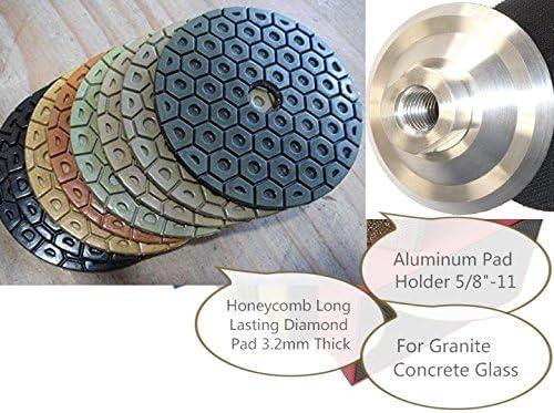 "14 X 5/"" Higher Diamond Long Life Polishing Pad Grit 100 granite masonry concrete"