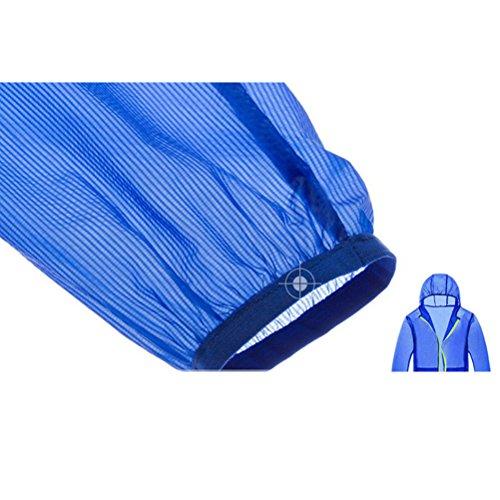 Zhuhaitf Multi-color Premium Unisex Rainproof Waterproof Anti-UV Jacket 3201 Yellow