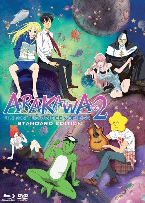 Arakawa Under the Bridge Season 2 Complete Collection DVD/BD Combo Set (Standard Edition)