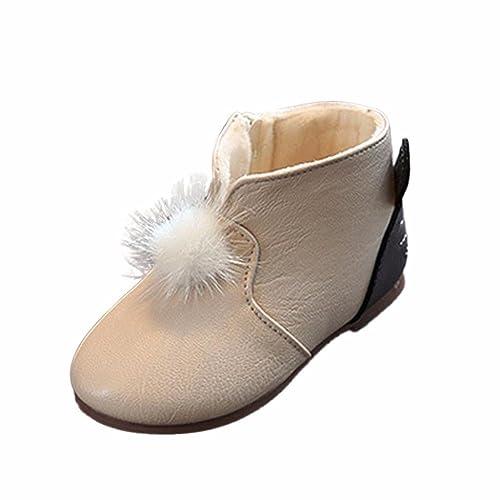 Rcool Scarpe da bambino Baby ragazzo Shoes Sneaker morbida Sole Bambino Inverno Stivali Martin,Sport all'aria aperta,