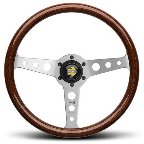 momo steering wheel wood - 2