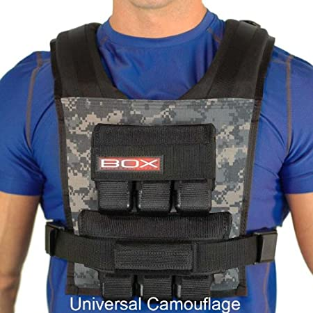30LBS BOX Weight Vest – Made in USA