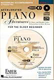 Accelerated Piano Adventures for the Older Beginner Lesson Book 1 2-CD Set