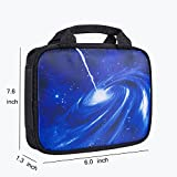 Voova Handheld Carrying Case for Nintendo New 3DS XL, Galaxy Water-Resistant Protective Travel Bag with Handle for Nintendo New 2DS XL and NDSL
