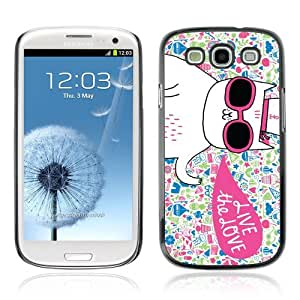 YOYOSHOP [Cool Cute Cat ] Samsung Galaxy S3 Case by mcsharks