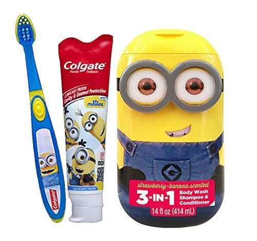 Minion Toothbrush Holders and Brushesds 2018 - cover