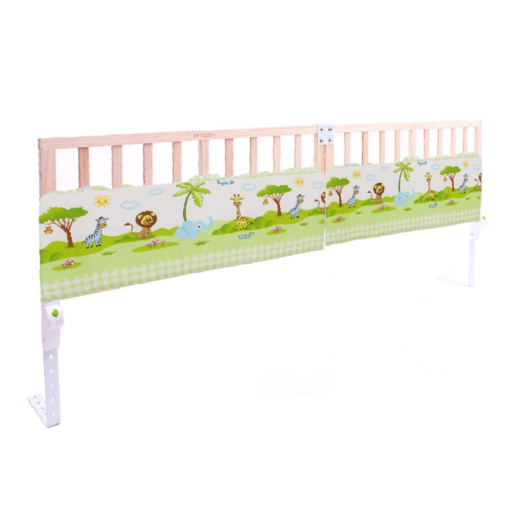 ベッドフェンス エクストラロング木製ベッドレール、キッズツイン、ダブル、フルサイズクイーン&キングベッド、幼児用安全ガードレール、折りたたみ式ベッドレール (色 : Style2)  Style2 B07MJVGLRZ