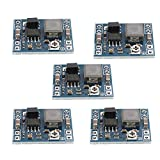SODIAL(R) 5PC Mini DC-DC Converter Step Down Module Adjustable Power Supply Output 0.8-20V