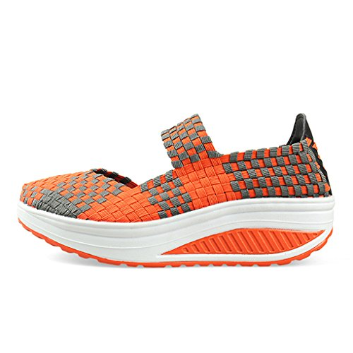Rui Soft Platform Out Breathable Summer Sneakers Women's Orange Hollow Walking YY dfqwSY4x4