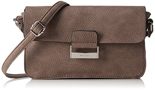 Gerry Weber Talk Different II Flap Bag H, S - Bolso Bandolera Mujer Marrón - Braun (Taupe 104)