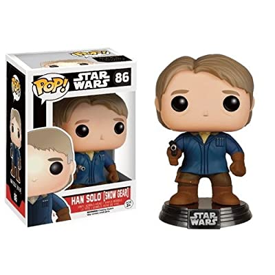 Loot Crate Exclusive Funko Pop #86 Star Wars Han Solo in Snow Gear The Force Awakens: Toys & Games