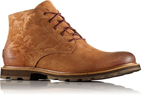 Shell Boot Chukka Mens - SOREL Men's Madson Chukka Waterproof Camo Non Shell Boot, Size: 10 D(M) US, Color Elk Cordovan