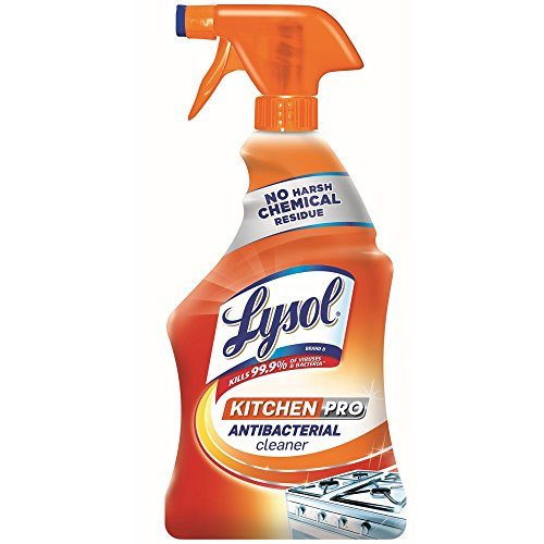 (Lysol Antibacterial Kitchen Cleaner, Citrus Scent, 22 Ounces (Pack of)