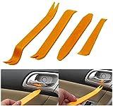 UDplus, Inc. 4pcs Auto Car Radio Door Clip Panel Trim Dash Audio Removal Installer Pry Tool For Honda Toyota Isuzu Hyundai