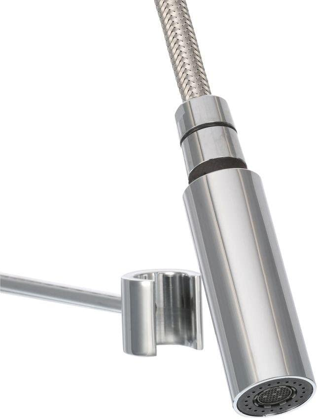 Glacier Bay Series 400 Single Handle Pull Down Sprayer Kitchen Faucet In Chrome Touch On Kitchen Sink Faucets Amazon Com