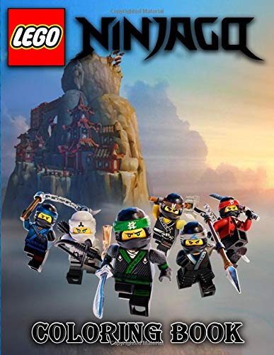 Amazon.com: Lego NINJAGO Coloring Book: For Kids ...