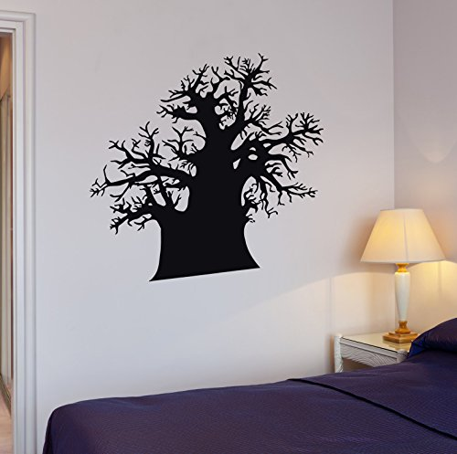 Cheap  Wall Stickers Vinyl Decal Huge Baobab Tree Great House Decor (i117)