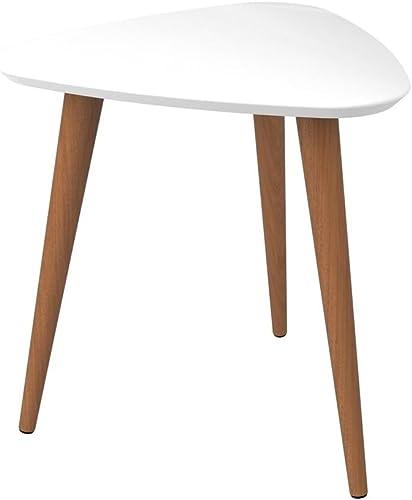 Manhattan Comfort Utopia High Triangle End Table